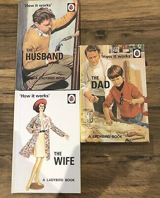 LADYBIRD BOOKS  The Dad /The Wife The Husband /Series 999 • 2.95£