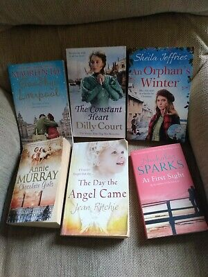 any 4 Books,dilly Court,sheila Jeffries.annie Murray,Nichola Sparks,Maureen Lee • 6.99£