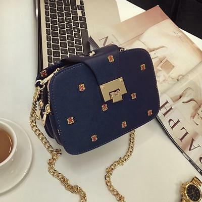 $ CDN30.07 • Buy Fashion Handbags Small Square Bags Women's Fashion Daily Chain Crossbody Bags FI