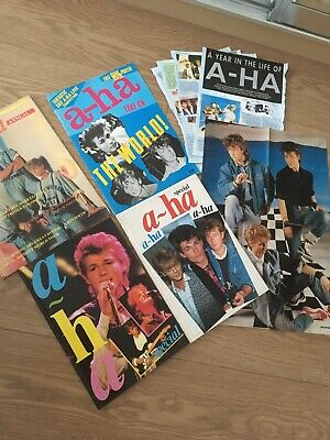 £55 • Buy A-ha Book Collection
