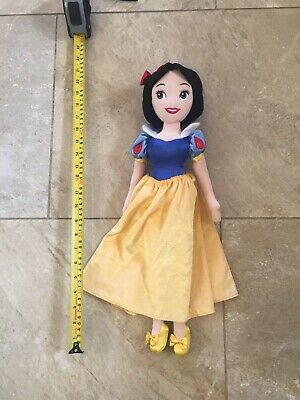 Disney Store Princess - Snow White Soft Plush Toy / Doll Teddy • 4.50£