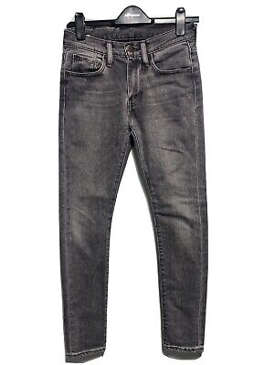 Levis 519 Extreme Skinny Stretch Jeans Grey Casual Pants Denim Mens W28 L32 • 24.99£