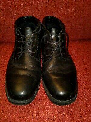 Rockport Mens Black Leather Waterproof Ankle Boots Size 7 • 15.70£