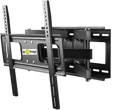 TV LCD TFT Monitor Wall Bracket -140cm (55  ) To 40kg Neig Swivel-Mounted Goobay • 78.16£