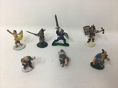 AU3.87 • Buy LOT Of 7 Ral Partha -TSR Metal Mini Dungeons Dragons AD&D Figures 1979