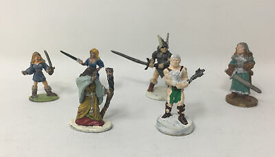 AU7.76 • Buy LOT Of 6 Ral Partha -TSR & HP  Metal Mini Dungeons Dragons AD&D Figures 1970-80