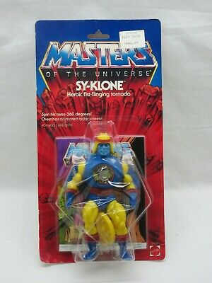 $445 • Buy MOTU,VINTAGE,SY-KLONE,CLEAR,Masters Of The Universe,MOC,sealed,figure,He-Man