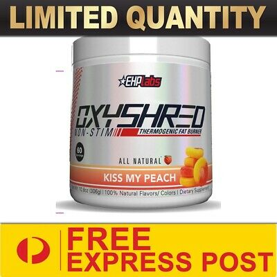 AU66.90 • Buy Ehp Labs Oxyshred Non-stim 60srv ||fat Burner Loss Oxy Shred Thermogenic Express