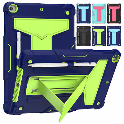 AU16.76 • Buy For IPad 7th / 8th Generation 10.2  Heavy Duty Stand Shockproof Armor Case Cover