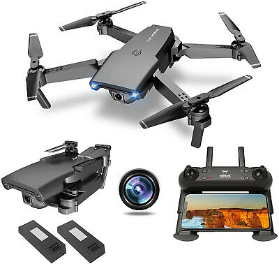 AU345.57 • Buy NEHEME NH525 Foldable Drones With 720P HD Camera For Adults, RC Quadcopter WiFi