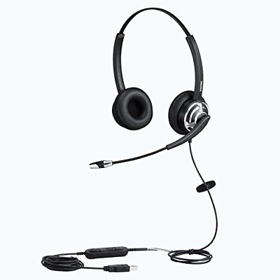 MAIRDI USB Headset With Noise Cancelling Microphone For Office Call Center Skype • 51.78£