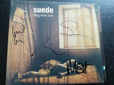 Suede   Dog Man Star  Deluxe 3 Cd/dvd Edition - Signed • 74.98£