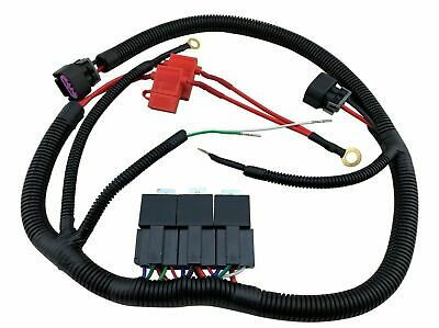 $79.97 • Buy Dual Electric Fan Upgrade Wiring Harness Kit For 99-06 GM Truck SUV ECU Control