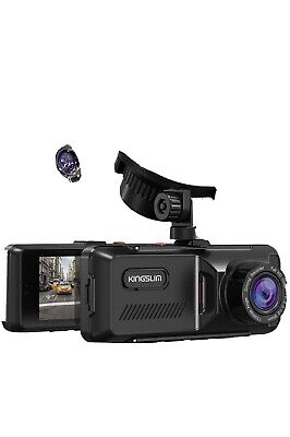 AU77.43 • Buy D1 Dual Dash Cam With Built-in GPS, 1080P Front And Rear Dash Camera For Cars