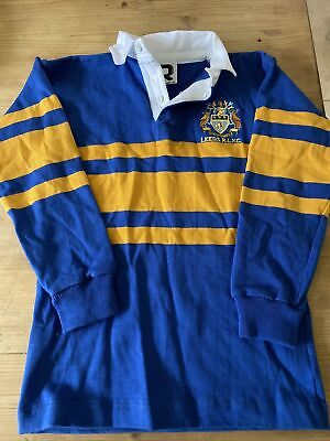 """Leeds Rhinos RLFC Childs Replica Rugby League Shirt 26"""" (measures 28"""") • 8.99£"""