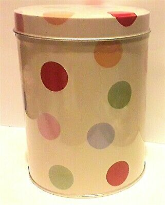 COLLECTABLE TIN ** SWEETS With Coloured Dots - 14 X 10 Cm - Diameter VERY GOOD * • 17£