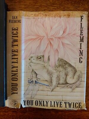 You Only Live Twice By Ian Fleming First Edition 1964 • 50£