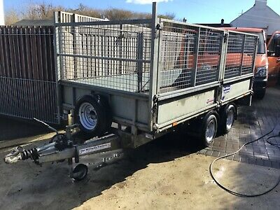 Ifor Williams 12ft Caged Trailer • 3,000£