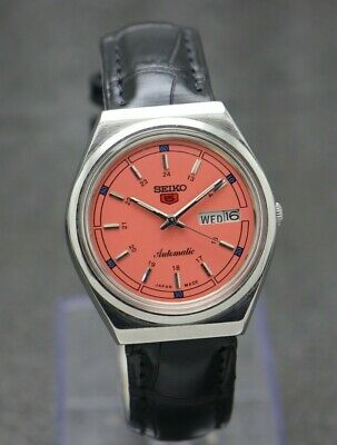$ CDN27.84 • Buy Vintage Seiko 5 Automatic Movement 6309 Japan Made Men's Watch.