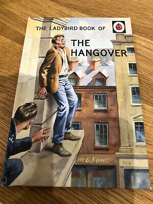 Ladybird Books For Grown Ups The Hangover • 1.90£