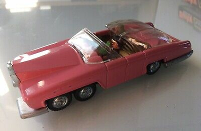 DINKY TOYS LADY PENELOPE'S FAB 1 - No 100 - Great Condition Missing 1 Headlight! • 45£