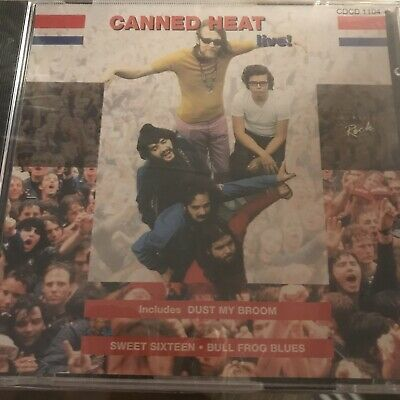 £8.99 • Buy Canned Heat - Live! New Sealed CD