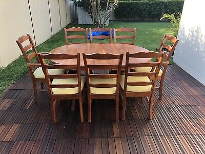 AU100 • Buy 8 Seater Dining Table And Chairs
