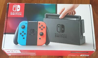 AU337.99 • Buy Great Condition Nintendo Switch In Box With All Accessories & Warranty
