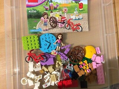 Lego Friends 41030 Olivia's Ice Cream Bike Complete Set With Instructions (JL) • 10£