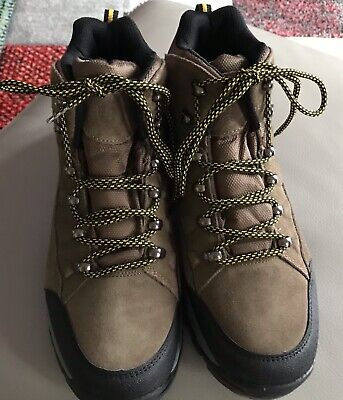 Pavers Wide Fit Brown Walking Boots For Men Size 10 • 15£