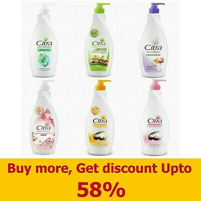$ CDN42.79 • Buy 400ml CITRA Nourishes Radiance White Body Lotion Skin Bath Moisturizers Beauty