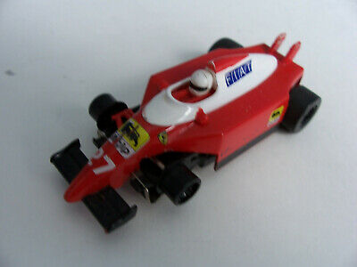Scalextric MicroMR1 Ferrari F1 Car For Tomy, Tyco, And Micro Scalextric • 10£