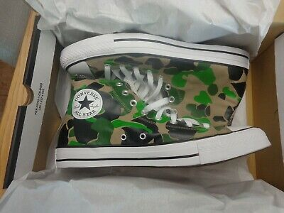 £44.99 • Buy Genuine Converse Shoes Camo Chuck Taylor All Star High Top - Mens Size UK 11