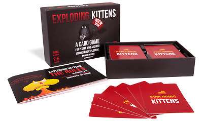 AU16.86 • Buy EXPLODING KITTENS - NSFW Edition
