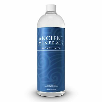 NEW Ancient Minerals Magnesium Oil 1L 100% Pure • 42.12£