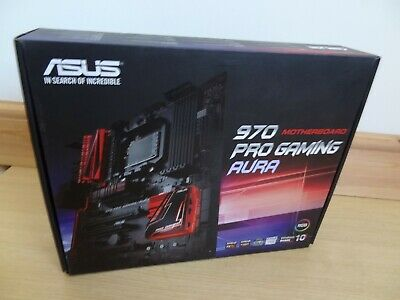 Asus 970 Pro Gaming Aura With I/O Backplate Shield - AMD AM3+ • 80£