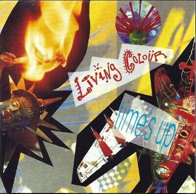 Living Colour - Time's Up (CD 1990) 3 Extra Tracks • 1£