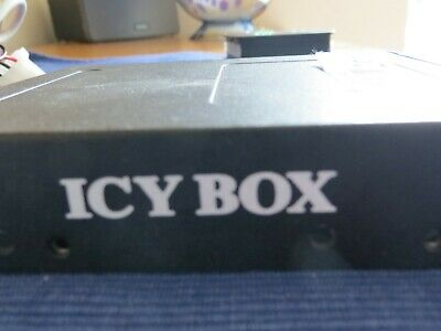 Icybox 3.5  Card Reader Multiport Front Drive Bay (ib-864-b) • 18£