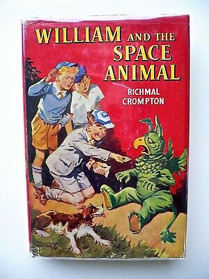 William And The Space Animal , Richmal Crompton ,Thomas Henry,1956 1st Ediition • 25£