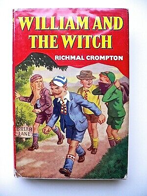 William And The Witch , Richmal Crompton ,Thomas Henry,1964 1st Edition,red • 25£