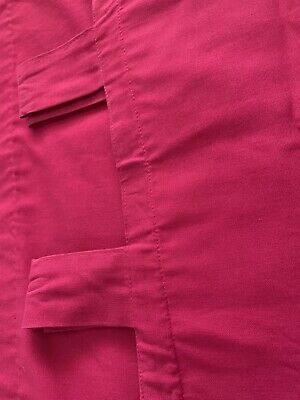 Next Bright Pink Tab Top Curtains • 4.50£