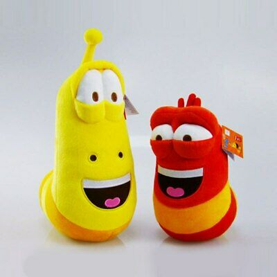 $ CDN11.30 • Buy 10cm LARVA Plush Toys Yellow Insect Red Insect Hot Cartoon Larva Toys Stuffed