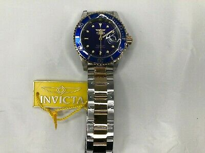 $ CDN50.63 • Buy 100% Authentic Invicta Pro Diver Blue Dial 40 Mm Two-tone Men's Watch 26972