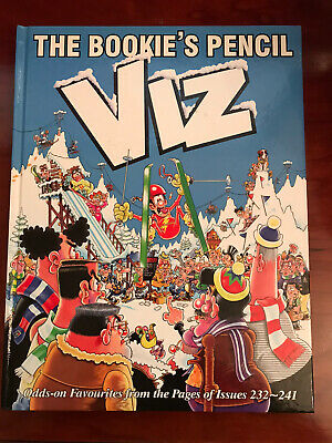 """Viz Annual """"The Bookies Pencil"""" Compilation Of Issues 232 To 241 • 5£"""