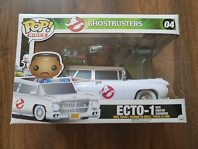 Funko POP Rides Ghostbusters ECTO-1 With Winston #04 • 65£