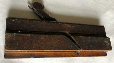 AU21.67 • Buy Vintage Carpentry French Plane, Wooden, Double Blade