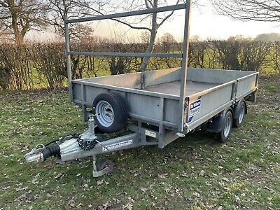 Ifor Williams LM126  3500kg Trailer 12 X 6 • 1,480£