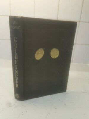 James Bond Goldfinger. Ian Fleming. 1st Edition. 1959. Jonathan Cape. 1st Print • 42.08£
