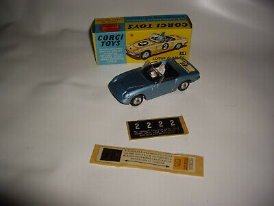 $ CDN227.62 • Buy Corgi Toys 318 Lotus Elan  Tiger In Tank  With Driver And Numbers + Numberplates