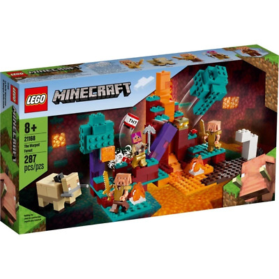 AU59.99 • Buy LEGO 21168 Minecraft The Warped Forest Brand New Sealed